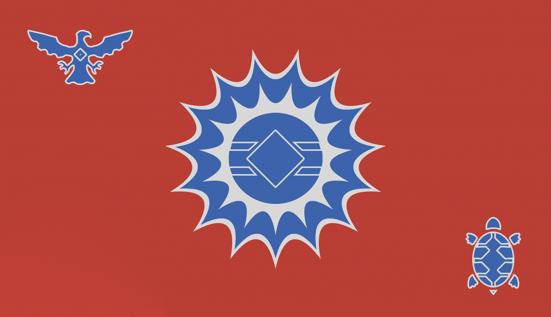 Steppe Tribes Flag New