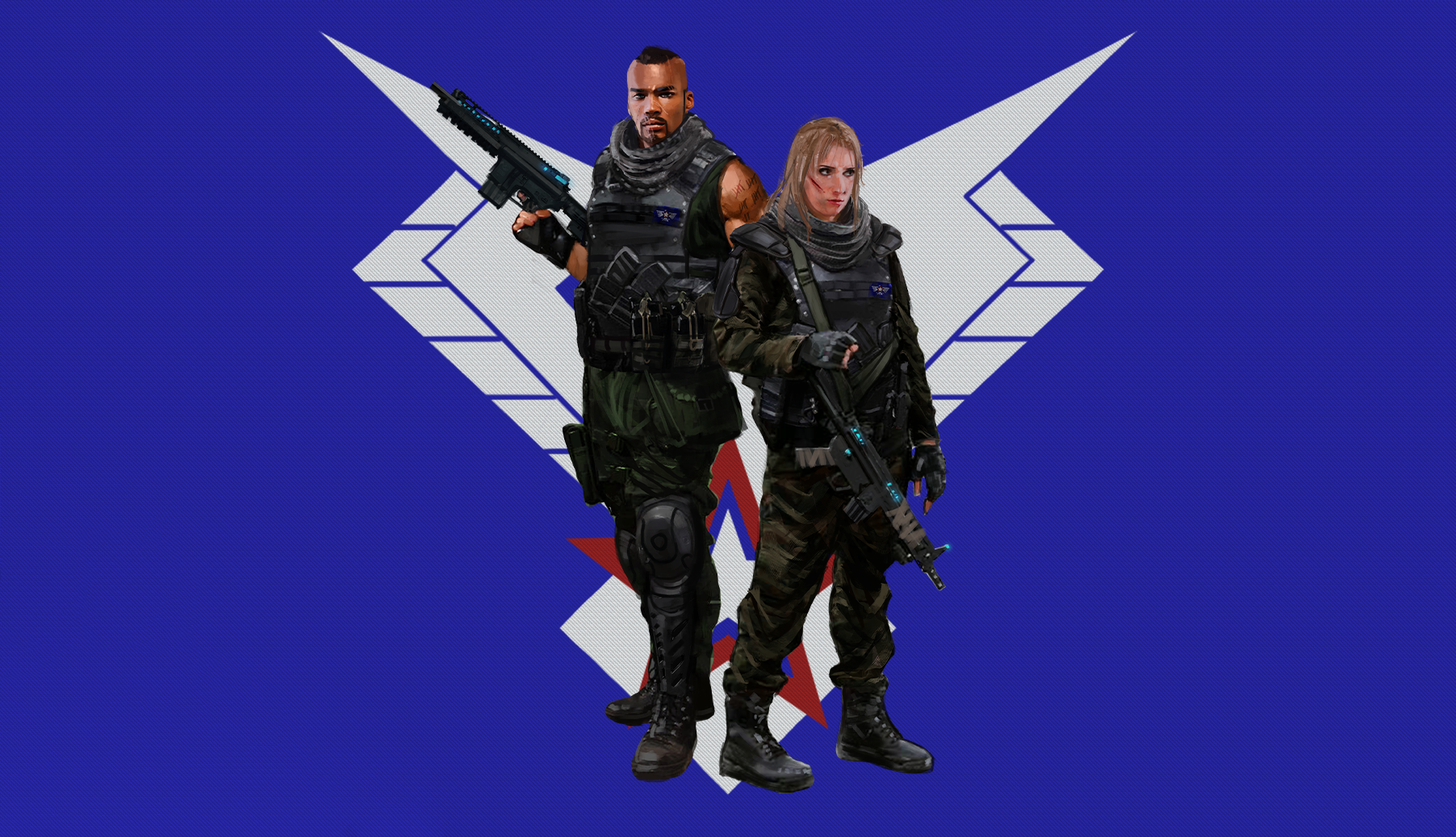 freedom fighters textured